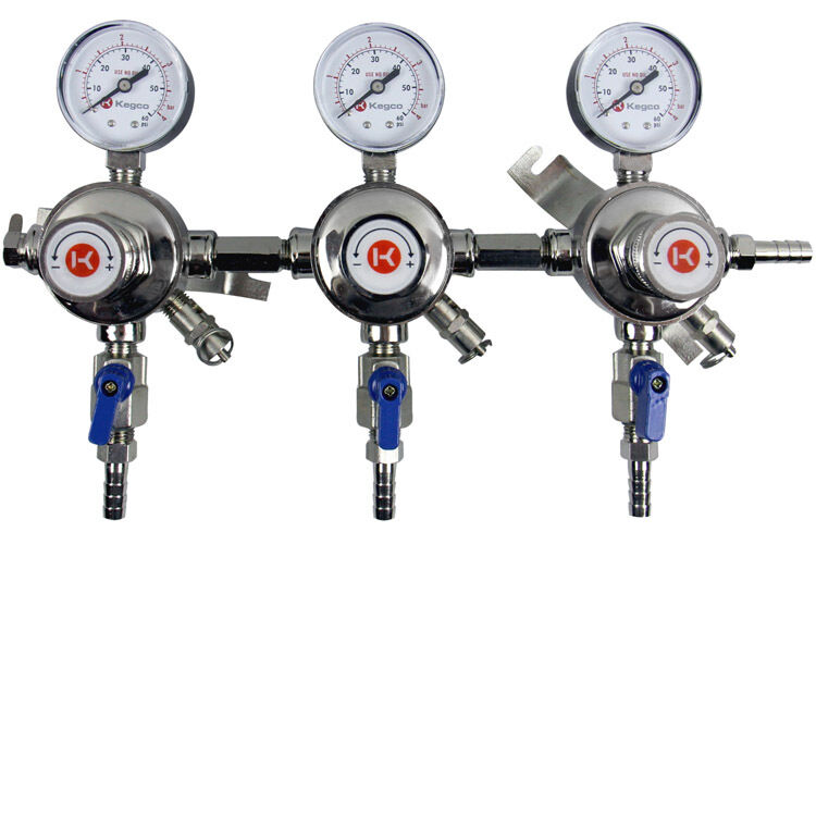 Kegco LH-54S-3 Premium Pro Series Three Product Secondary Regulator