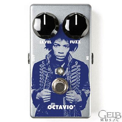 MXR JHM6 Jimi Hendrix Octavio Fuzz Guitar Effect Pedal - JHM6