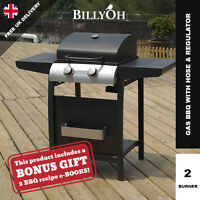 2 Burner Gas Bbq Grill Portable Garden Barbecue For Outdoor Patio Cooking - billyoh - ebay.co.uk