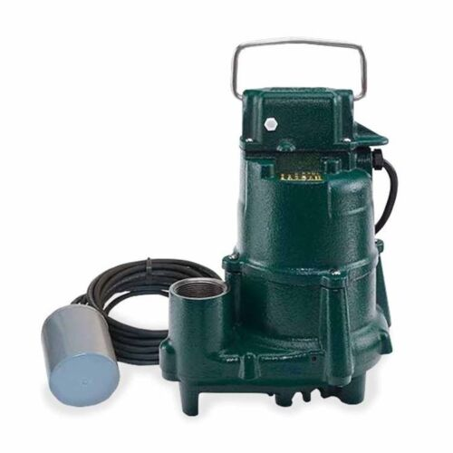 Automatic Sump Pump with Variable Level Float Switch