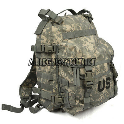 US ARMY ACU ASSAULT PACK 3 DAY MOLLE BACKPACK w/ Stiffener FREE SHIPPING VGC