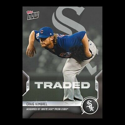 2021 TOPPS NOW® # 579 CRAIG KIMBREL Traded to Chicago White Sox