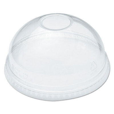 DART Ultra Clear Dome Cold Cup Lids f/16-24 oz Cups, PET, 100/Pack DLR626PK Dart Clear Dome