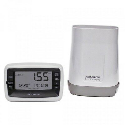 AcuRite 00899 Deluxe Wireless Rain Gauge, New, Free Shipping