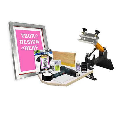 Diy Shocker Kit With Pre-burned Screen Printing Starter Beginner 11-5