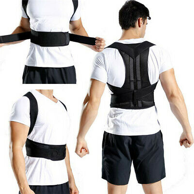 Back Posture Body Corrector True Magnetic Shoulder Best Brace for Men Women (Best Back Brace For Posture)