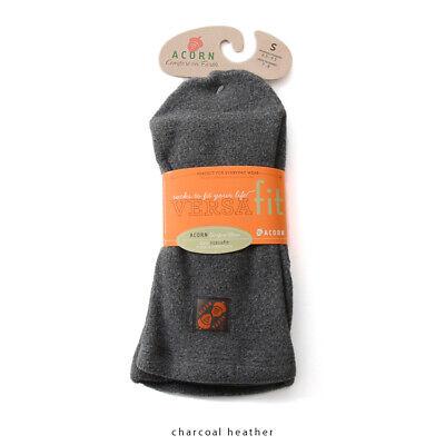 Acorn VersaFit Sock -- Charcoal