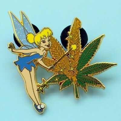 Tinker Bell Adult (TINKER BELL   pin ADULT FANTASY dab dabbing 420 710 magic wand marijuana)