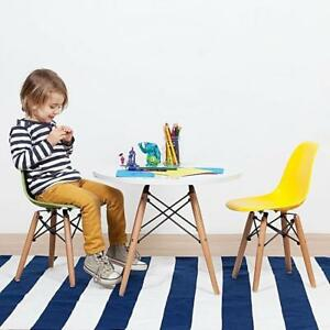 Eames Style Kids Eiffel Chair with wooden OR chrome base. Option with arms and rocking chairs are also available!