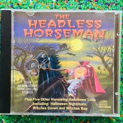 The Headless Horseman CD 1996 Halloween music Jack Dorsey Witches Rap Witches