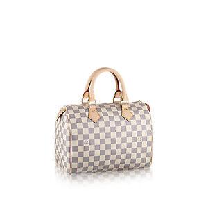 Louis Vuitton Speedy 25 Damier Azur Canvas