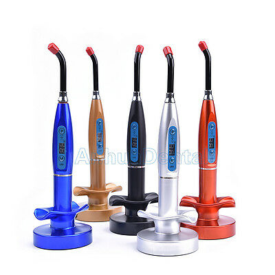 Dental Led Cure Lamp Wireless Cordless 5w 2000mw Curing Light Lamp Tools Kits