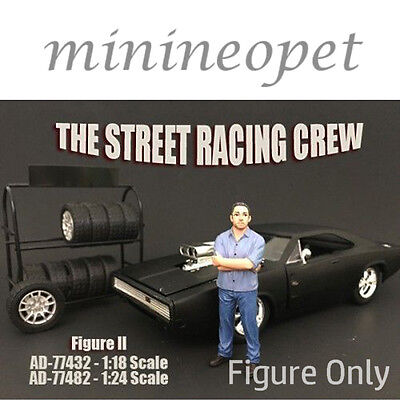 AMERICAN DIORAMA 77432 THE STREET RACING CREW FOR 1/18 MODEL CAR FIGURE II