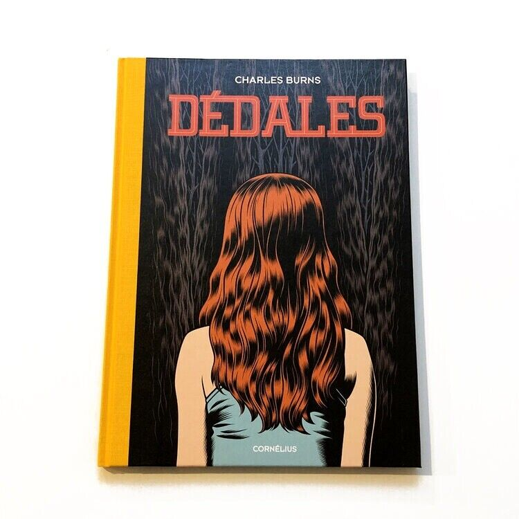 Charles Burns Dedales #1 French Import HC Rare Comics Black Hole, Sealed New