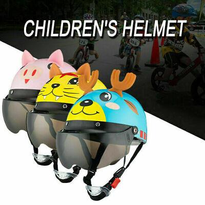 Kids Helmet Youth Toddler Bike Bicycle Skateboard Skating Cartoon Cycling Helmet