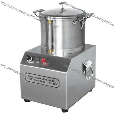 6L Commercial Home Electric Vegetable Fruit Meat Food Grinder Processor Crusher