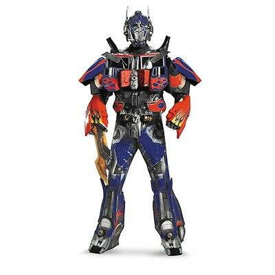 Transformers Optimus Prime Movie Theatrical Collectors Edition Adult 3D Costume](Transformer Costume Adult)