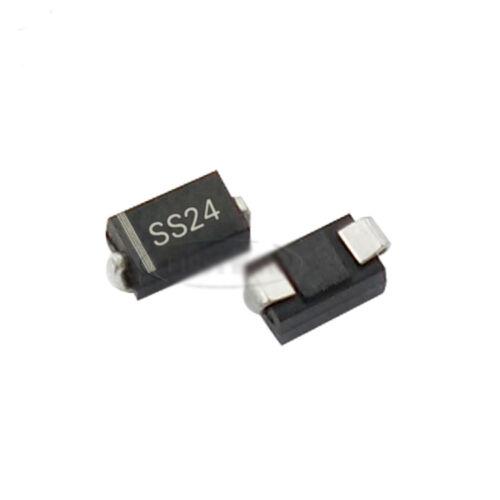 US Stock 50pcs SR240 Schottky Barrier Rectifier Diode 2A 40V SMD DO-214AC SS24