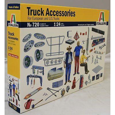 Italeri 1:24 720 TRUCK ACCESSORIES FOR Model Truck Kits