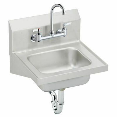 Elkay CHS17161C Single Bowl Handwash Sink Kit Elkay Hand Wash Sink