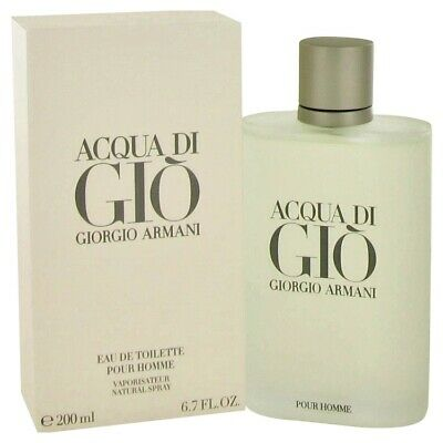 Acqua Di Gio by Giorgio Armani 6.7 Eau de Toilette Cologne for Men ~ New In Box