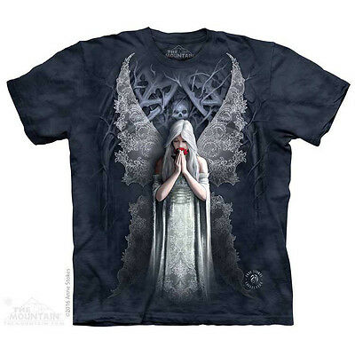 Only Love Remains T-Shirt by The Mountain.  Dark Fantasy Angel Fairy S-5X NEW
