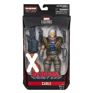 MARVEL LEGENDS CABLE (DEADPOOL INFINITE SERIES) MIB MISSING BAF