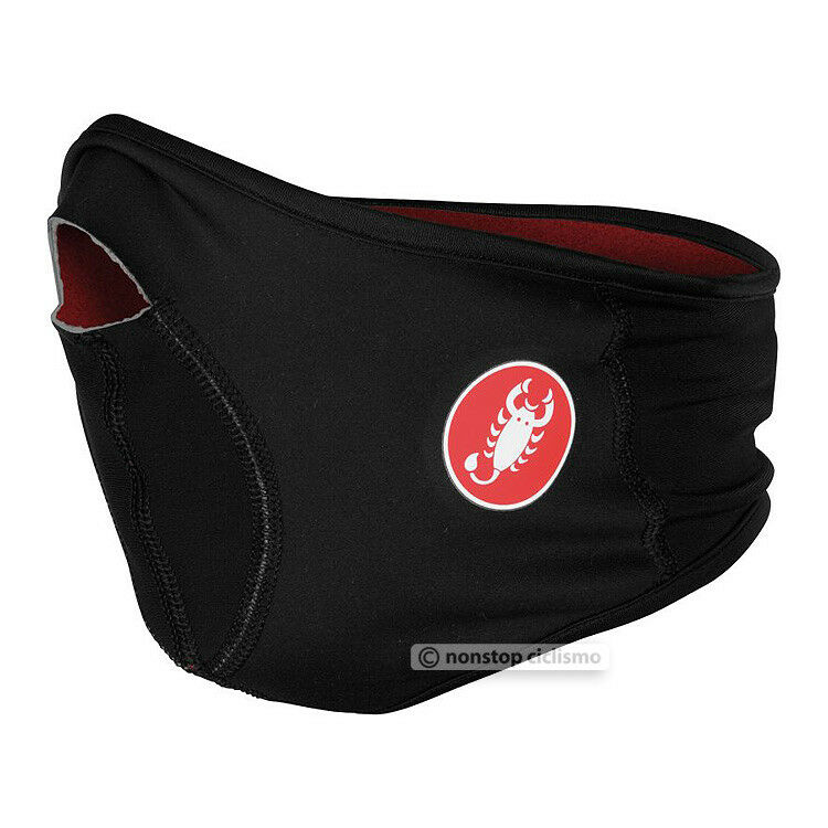 NEW Castelli VISO Thermal Winter Windstopper Cycling Face Mask : BLACK