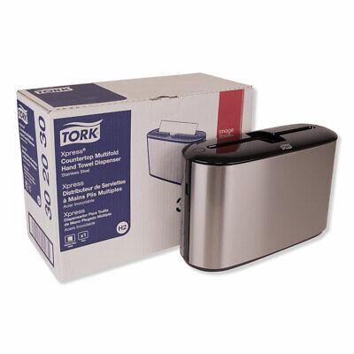 Tork Xpress Countertop Towel Dispenser 12.68 X 4.56 X 7.92 Stainless Steel