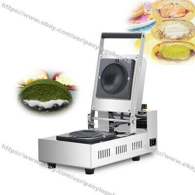 Home Commercial Nonstick Electric Ice Cream Gelato Panini Press Machine Maker