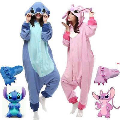 Erwachsene Kigurumi Lilo & Stich Cosplay Kostüm Body Schlafanzüge Overall ()
