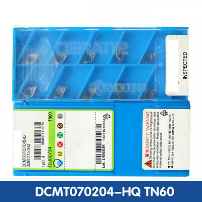 Dcmt070204hq Tn60 Dcmt2151hq Tn60 10pcs