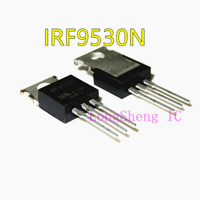 10pcs Irf9530n To-220 Trans Mosfet P-ch 100v 14a New