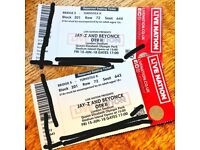 2x Beyonce & Jay-Z OTR II Tickets Friday 15th June London