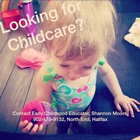 In-Home-Childcare available in North End Halifax