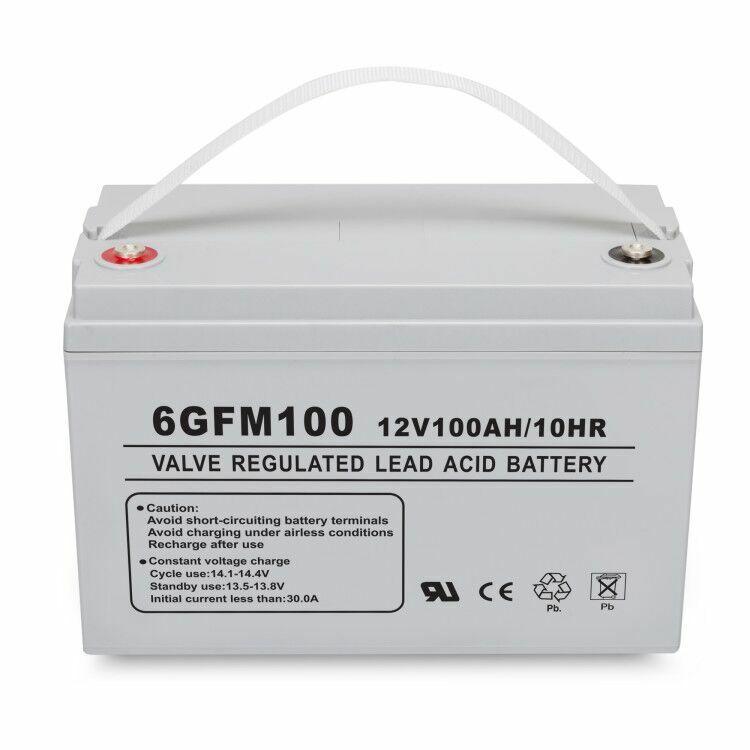 12V 100AH AGM SLA Deep Cycle Battery For BCI Group 31 Solar