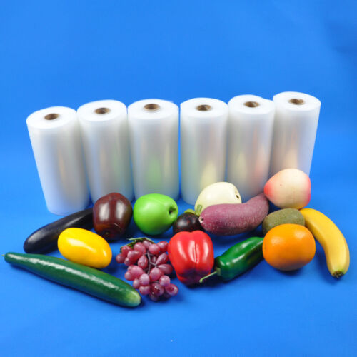 6 rolls commercial 6 x50 4mil food