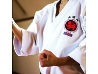 KARATE- First two lessons free. Classes at Wellington Leisure Centre and Telford Whitehouse Hotel