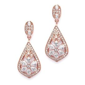 Roman & French Rose Gold Plated Earrings