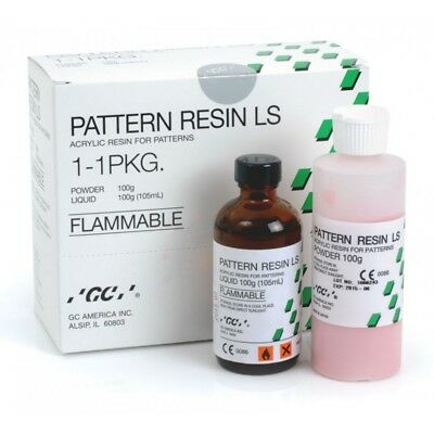 Dental Gc Pattern Resin Self Cure Acrylic - Implant Bar Bridges Verification Zig