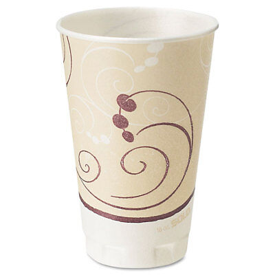 (Solo Symphony Design Trophy Foam Hot/Cold Drink Cups 16oz 50/Pack 15 Packs)