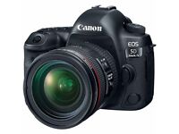 New Canon 5D Mark IV Kit With Canon 24-70mm F4 L IS USM