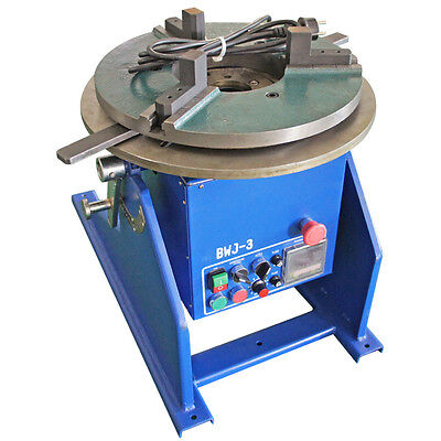 300kg Automatic Welding Positioner With Chuck For Migmagco2tig Welding 110v