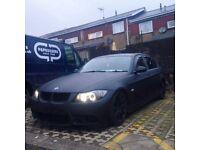 BMW 320d M SPORT SE / M3 Replica MATTE BLACK