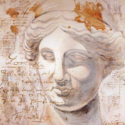 Cesare Carra Lorenzo Poster Kunstdruck Bild 69x69cm
