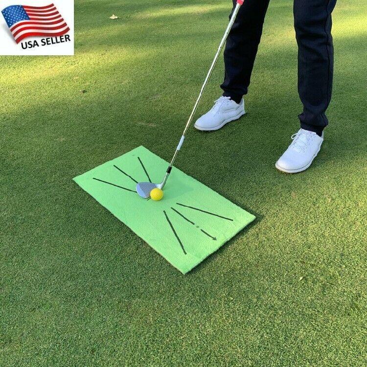 Accustrike Golf Training Mat For Swing Detection Batting Golf Practice Training