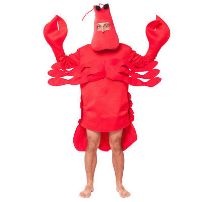 Easy On Lobster Men Women Spoof Costume Dress Halloween Party Stage Cosplay](Easy Party Costumes)