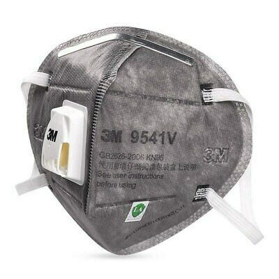 520pcs 3m 9541v Kn95 Particulate Respirator Face Mask Mouth Cover Valve Kn95