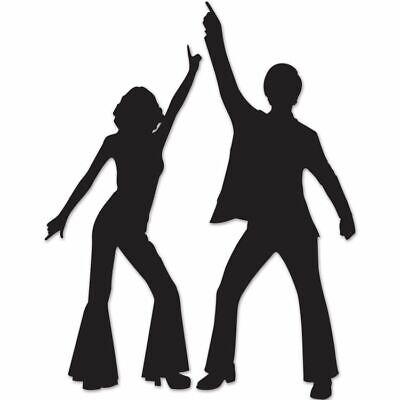 70s Dancer Silhouette (Disco Dancer Silhouettes 32.75