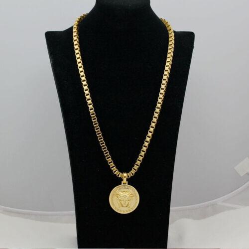 золотой медальон на шею с фото